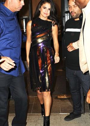 Selena Gomez: Leaving Watch What Happens Live -14