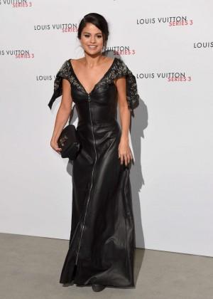 Selena Gomez: Louis Vuitton Series 3 VIP Launch -04