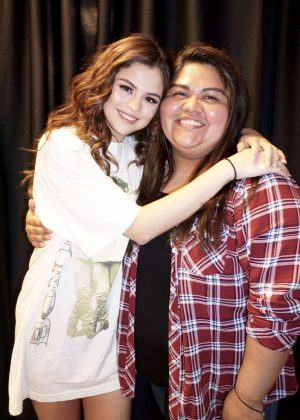 Selena Gomez - Meet and Greet at The Revival World Tour in Sacramento