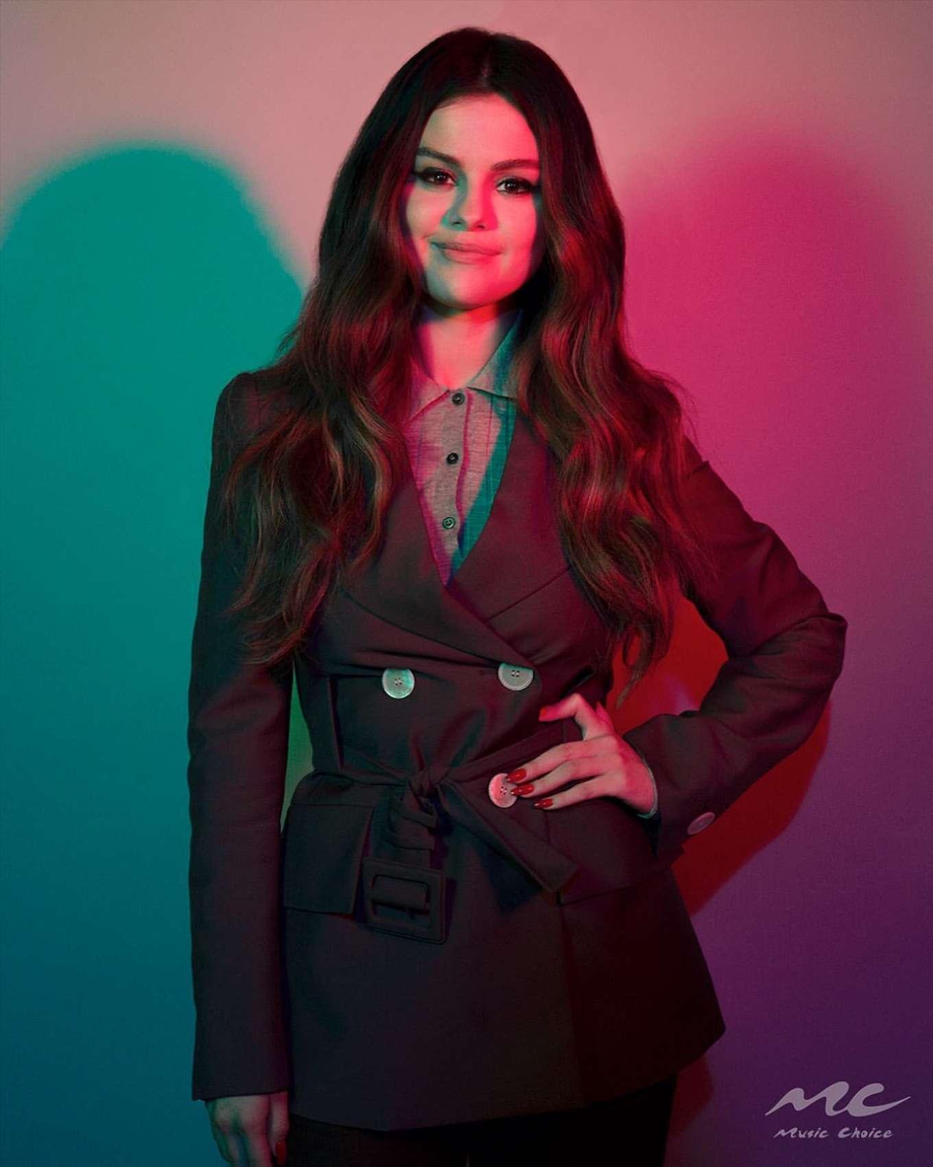 Selena Gomez - Music Choice Portrait (October 2019)