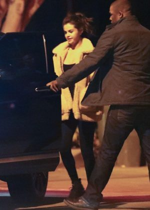 Selena Gomez - Night out in Beverly Hills