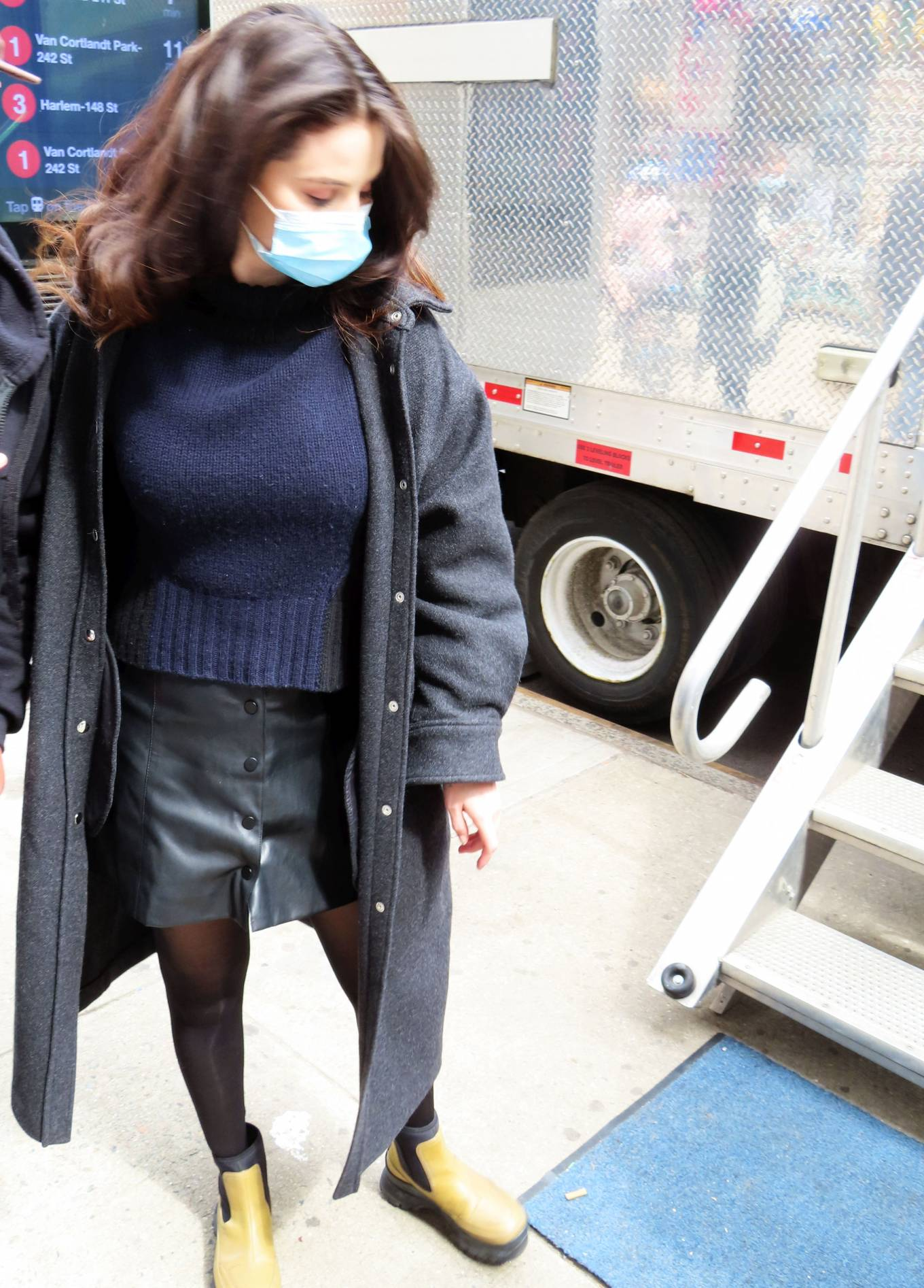Selena Gomez 2021 : Selena Gomez – On film set at West End area in New York City-03