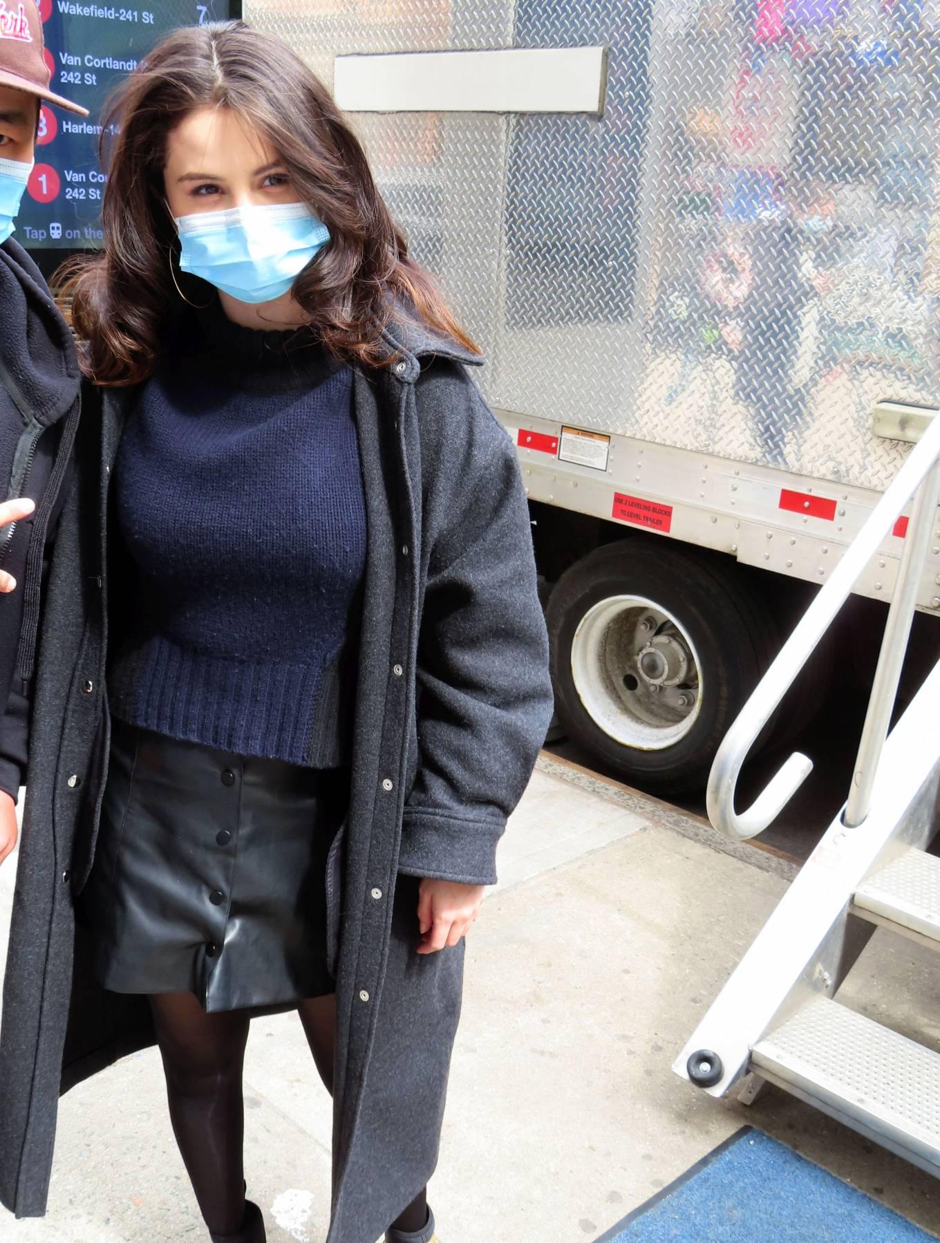 Selena Gomez 2021 : Selena Gomez – On film set at West End area in New York City-05