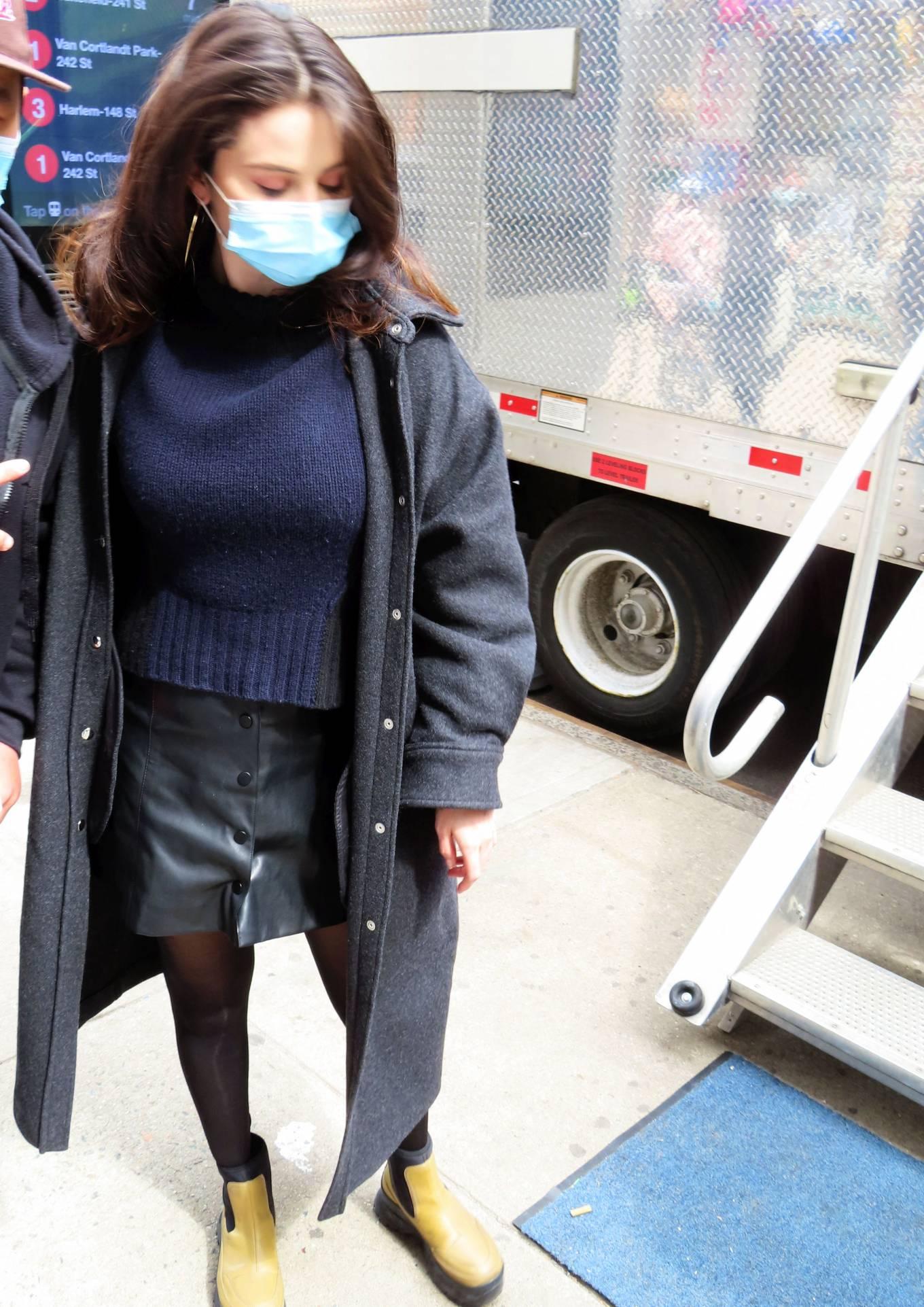Selena Gomez 2021 : Selena Gomez – On film set at West End area in New York City-06
