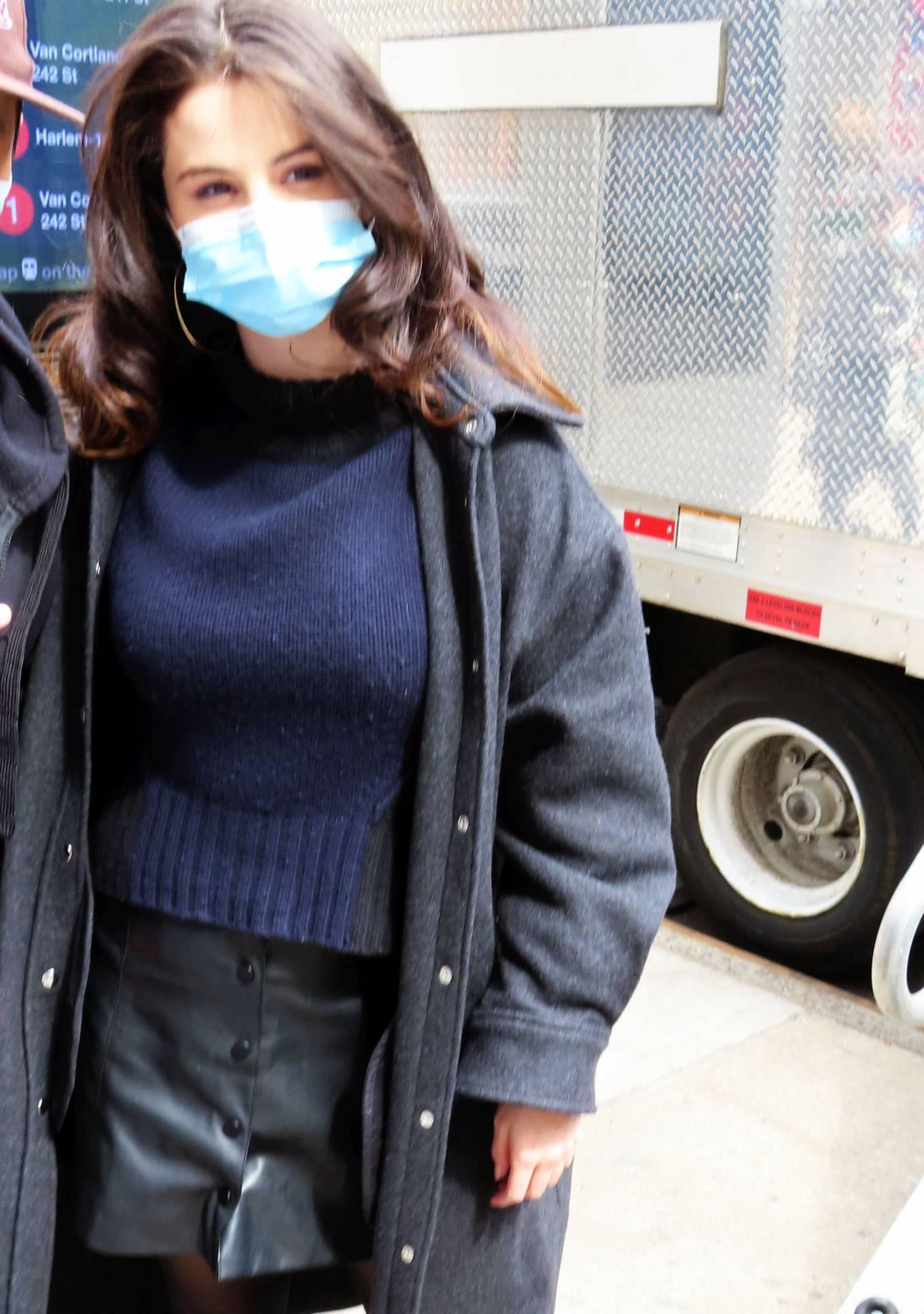 Selena Gomez 2021 : Selena Gomez – On film set at West End area in New York City-07