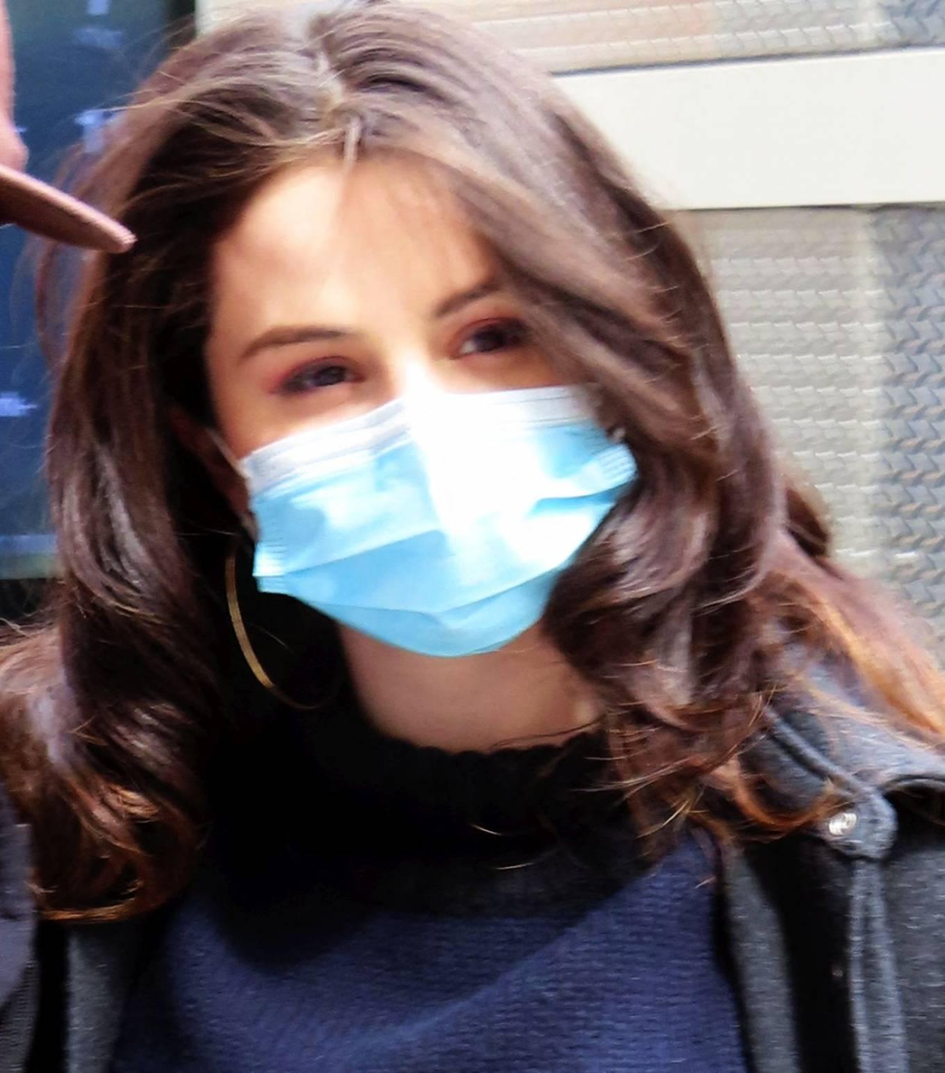 Selena Gomez 2021 : Selena Gomez – On film set at West End area in New York City-12