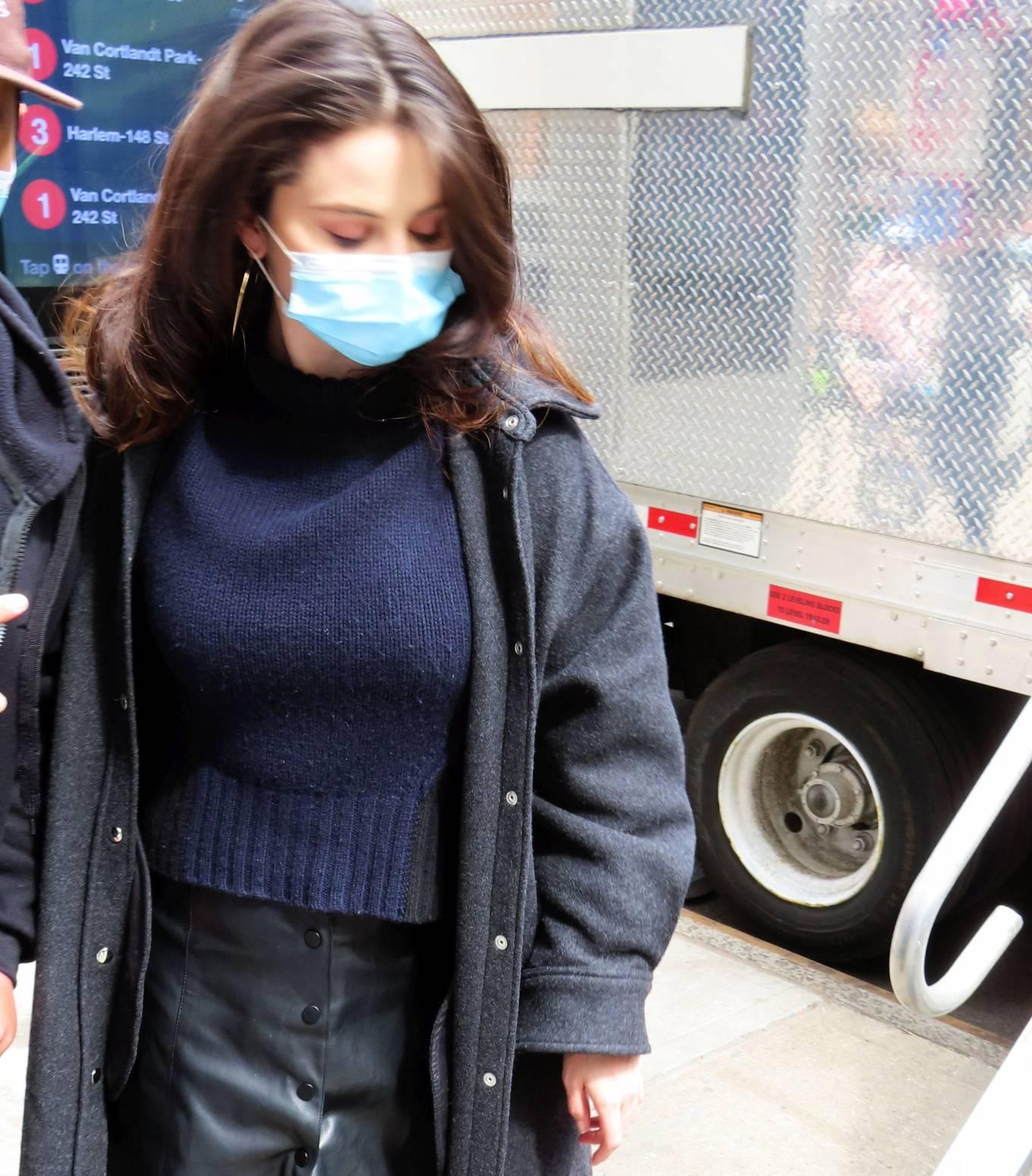 Selena Gomez 2021 : Selena Gomez – On film set at West End area in New York City-14