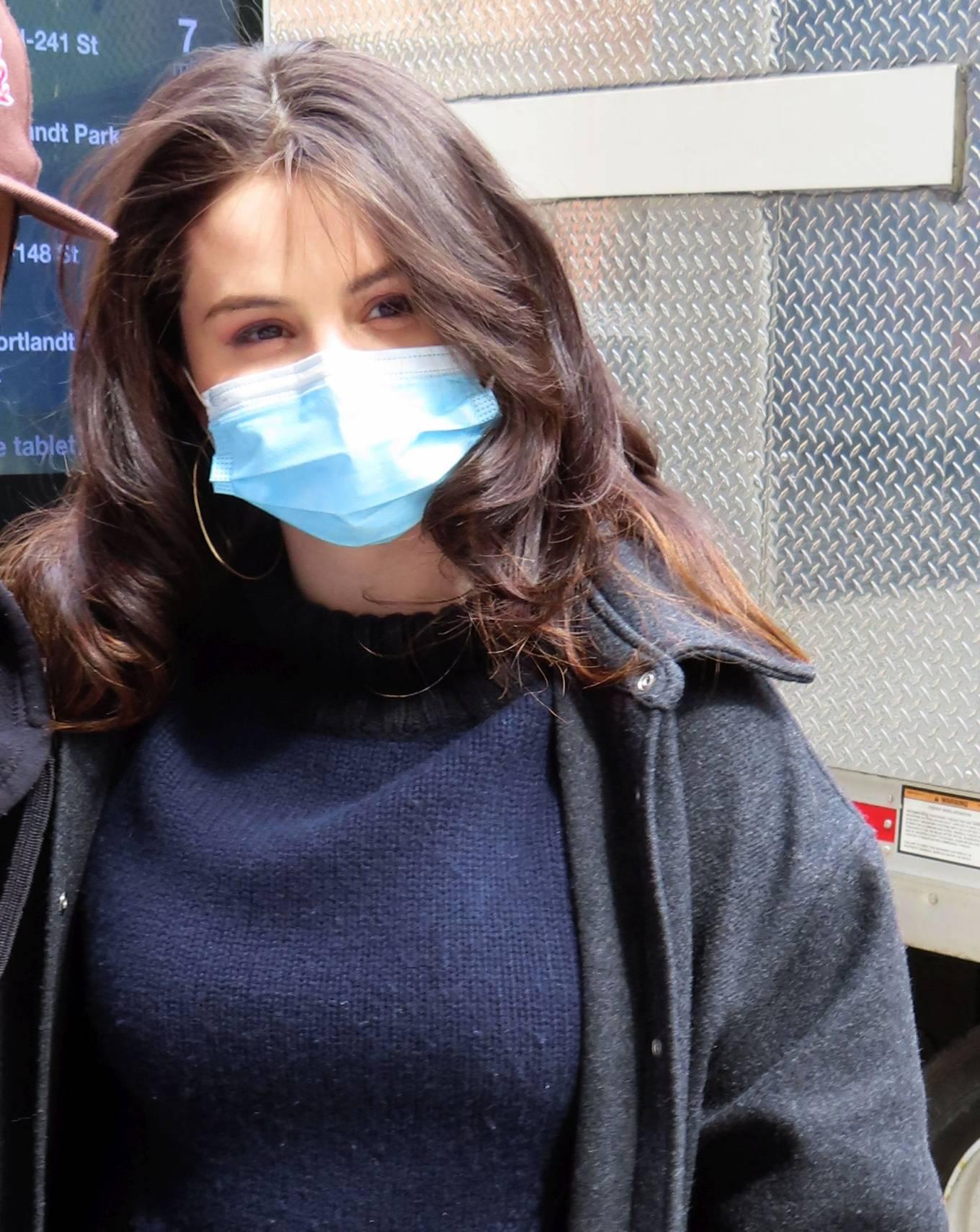 Selena Gomez 2021 : Selena Gomez – On film set at West End area in New York City-15