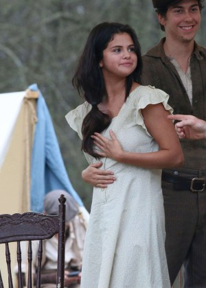 "Selena Gomez on set of ""In Dubious Battle"" in Georgia"