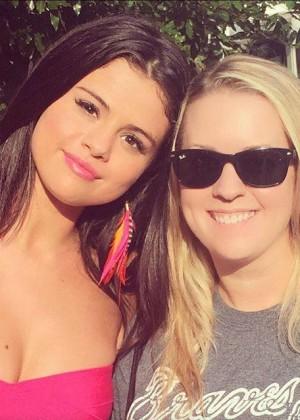 Selena Gomez on Neighbors 2 Sorority Rising set -04