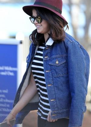 "Selena Gomez on the Set of ""The Revised Fundamentals of Caregiving"" in Atlanta"