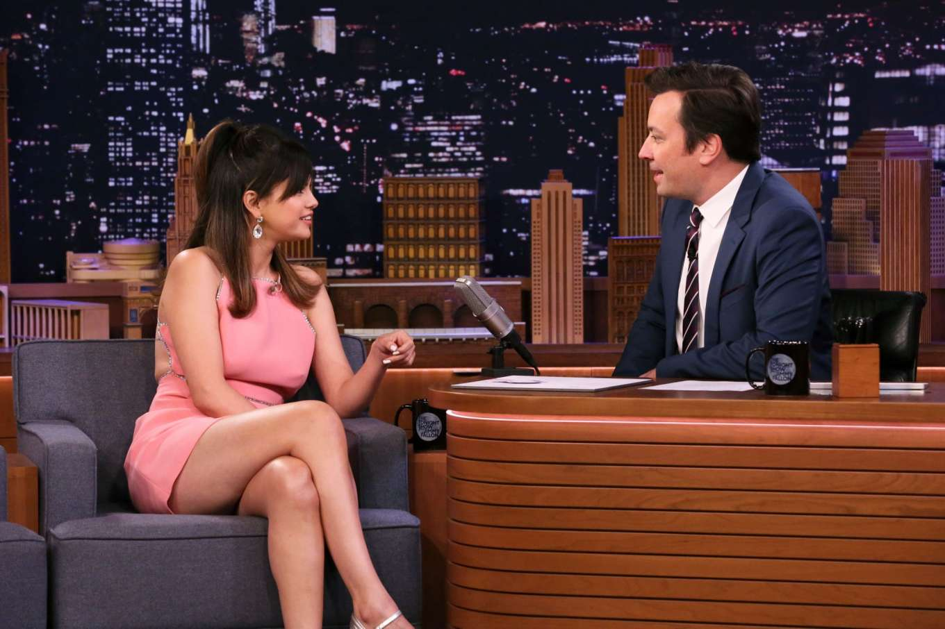 Selena Gomez - On 'The Tonight Show Starring Jimmy Fallon' in NYC
