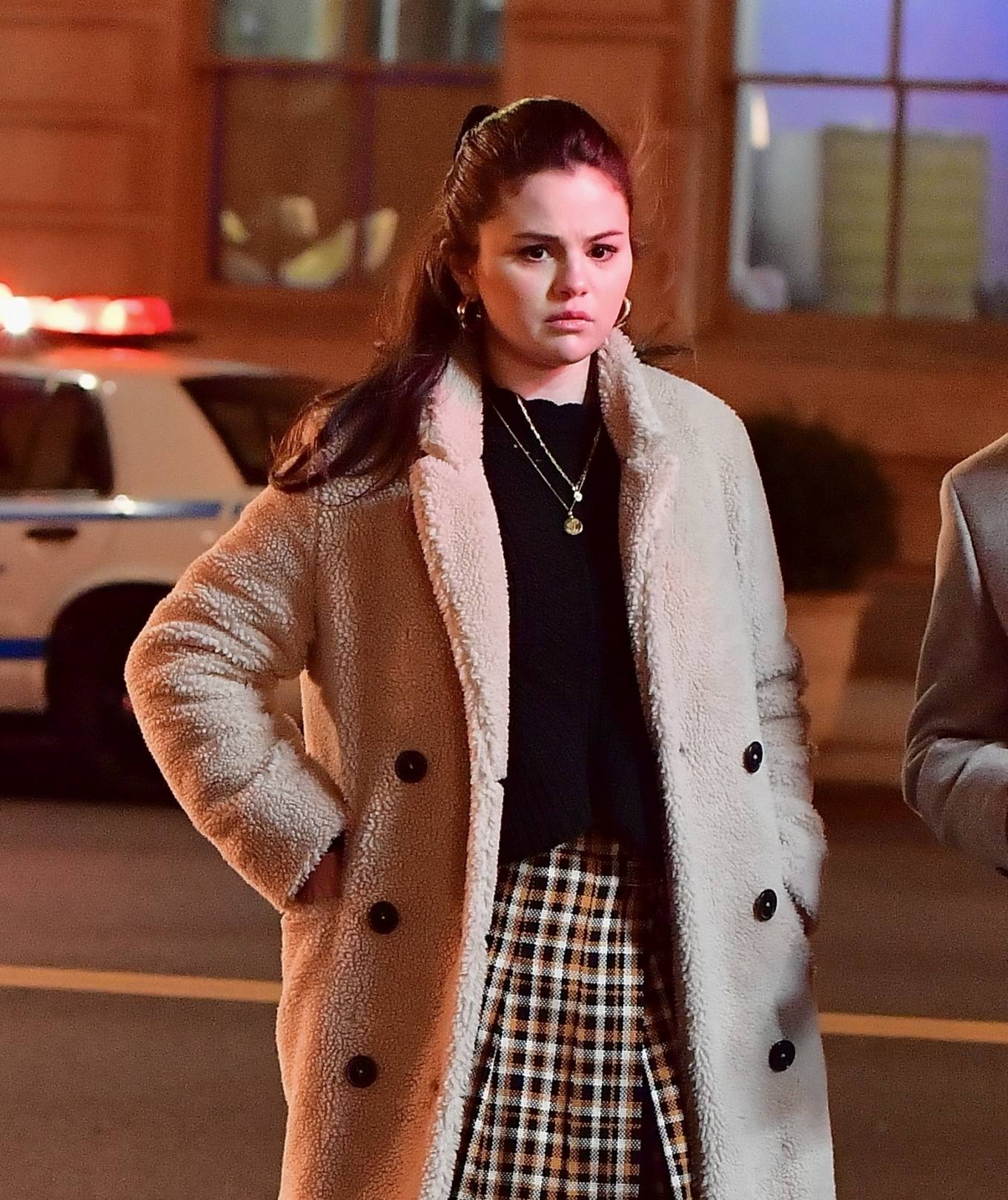 Selena Gomez 2021 : Selena Gomez – Only Murders In The Building set candids in New York-40