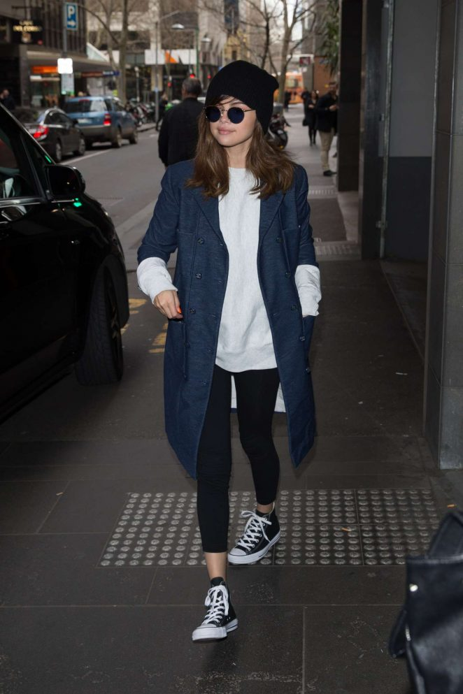 Selena Gomez: Out and about in Melbourne -02