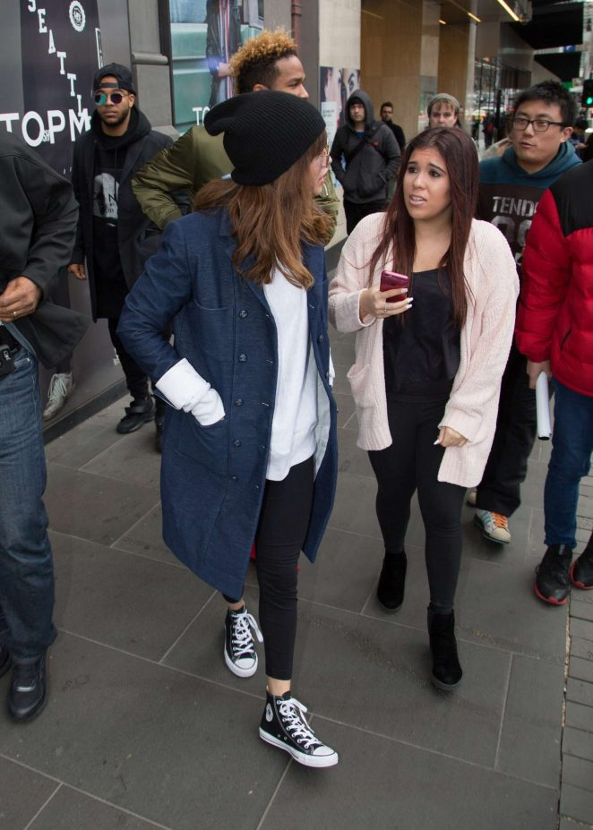 Selena Gomez: Out and about in Melbourne -09