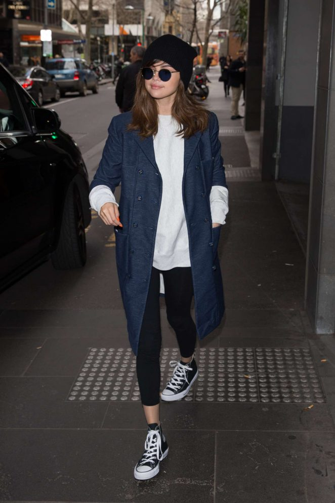Selena Gomez: Out and about in Melbourne -10