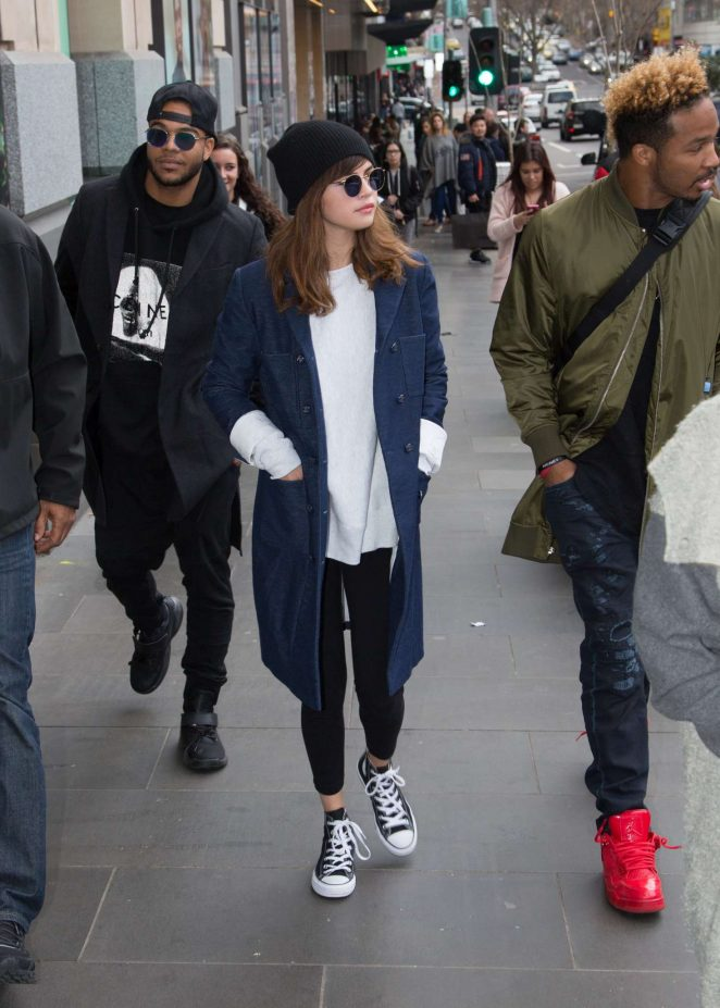 Selena Gomez: Out and about in Melbourne -12