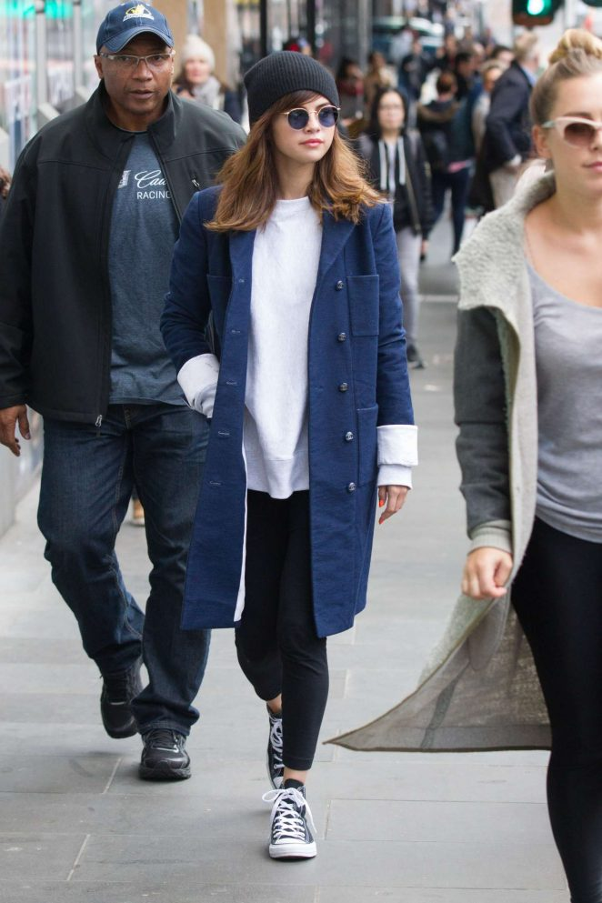 Selena Gomez: Out and about in Melbourne -19