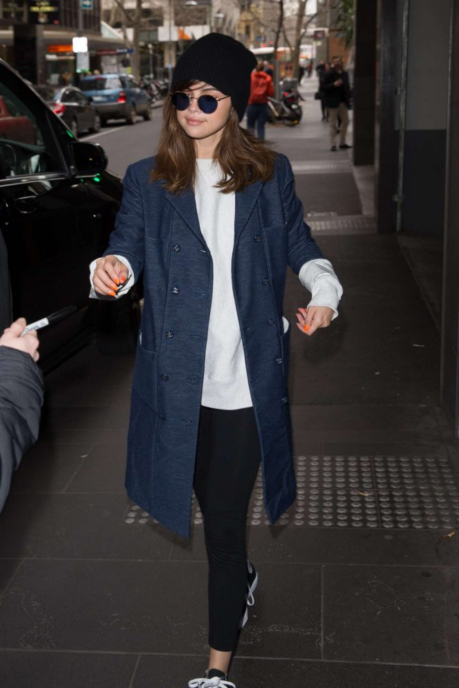 Selena Gomez: Out and about in Melbourne -25