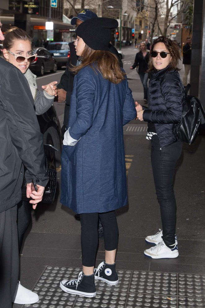Selena Gomez: Out and about in Melbourne -27