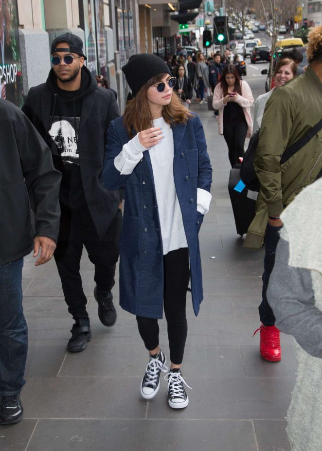 Selena Gomez: Out and about in Melbourne -31