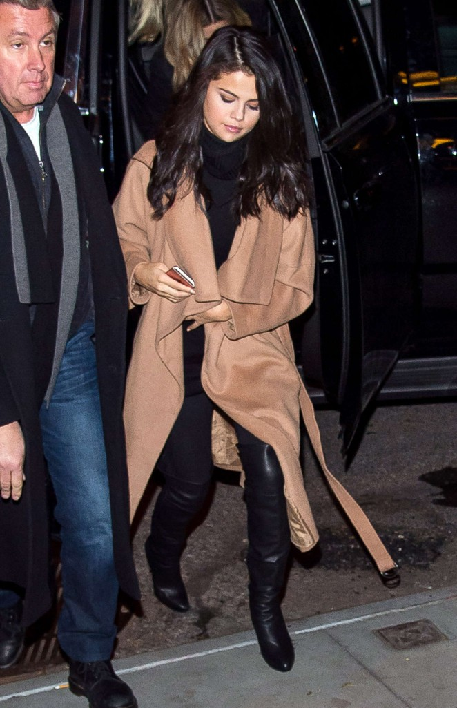Selena Gomez - out and about in New York City