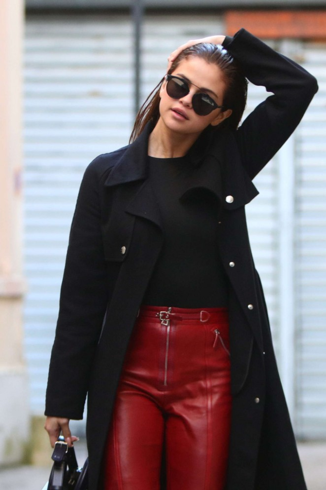 Selena Gomez out and about in Paris