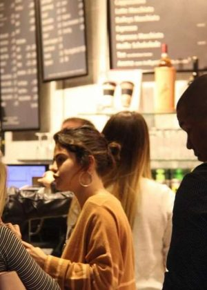 Selena Gomez out in Downtown Nurnberg