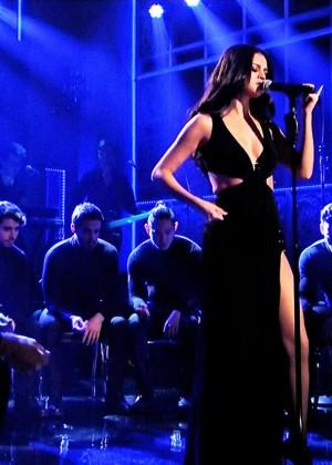 Selena Gomez p Performing on Saturday Night Live -17