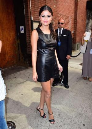 Selena Gomez Hot at Polo Ralph Lauren Spring 2016 NYFW -06