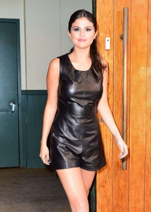 Selena Gomez - Polo Ralph Lauren Spring 2016 NYFW in NYC
