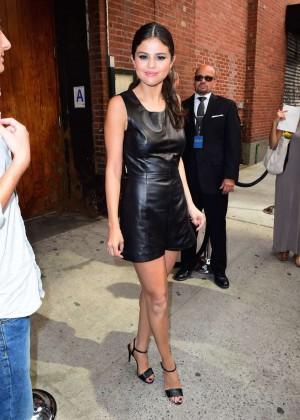 Selena Gomez Hot at Polo Ralph Lauren Spring 2016 NYFW -10