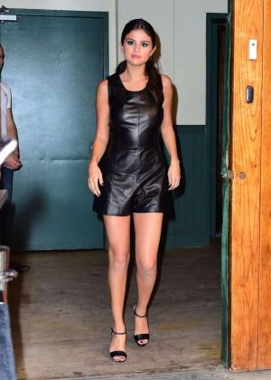 Selena Gomez Hot at Polo Ralph Lauren Spring 2016 NYFW -11