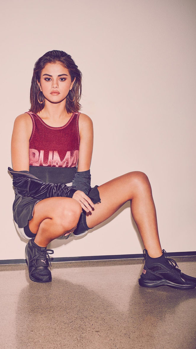 Selena Gomez - Puma 2017 Campaign Photoshoot