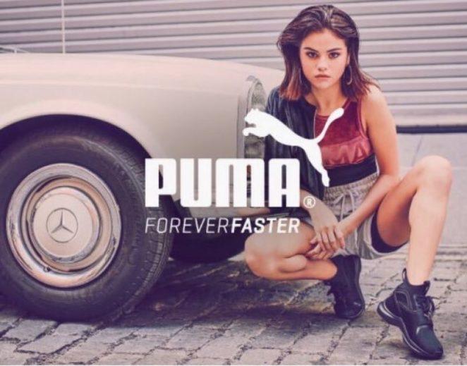 Selena Gomez - Puma Campaign 2017