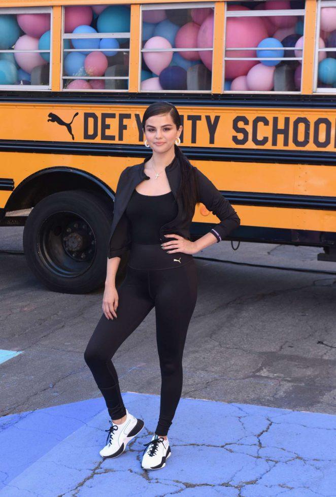 Selena Gomez - PUMA Defy City to celebrate the launch of PUMA Defy in LA