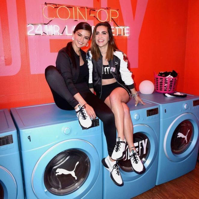 c51ae50a088496 Selena Gomez  PUMA Defy City to celebrate the launch of PUMA Defy ...