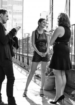 Selena Gomez: Ralph Lauren NYFW Portraits 2015 -05