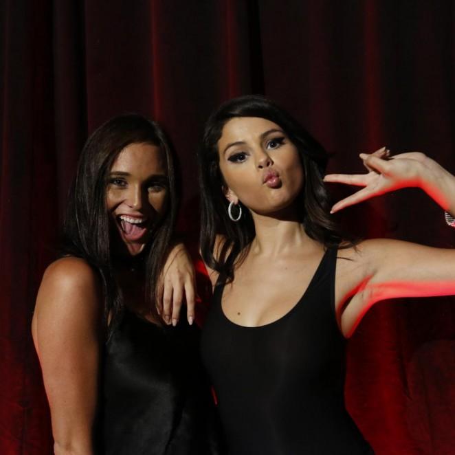 Selena Gomez - #REVIVAL Event Fan Meet in Los Angeles