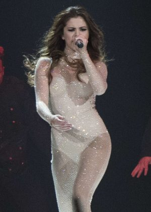 Selena Gomez - Revival Tour Performance in Calgary