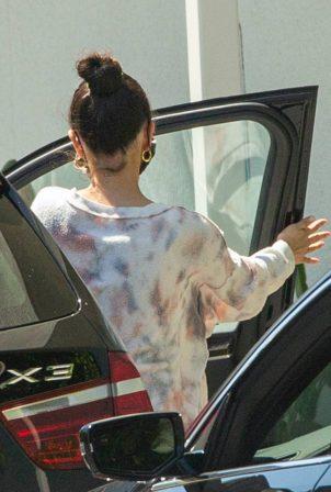 Selena Gomez - Seen at a Spa Treatment in Sherman Oaks