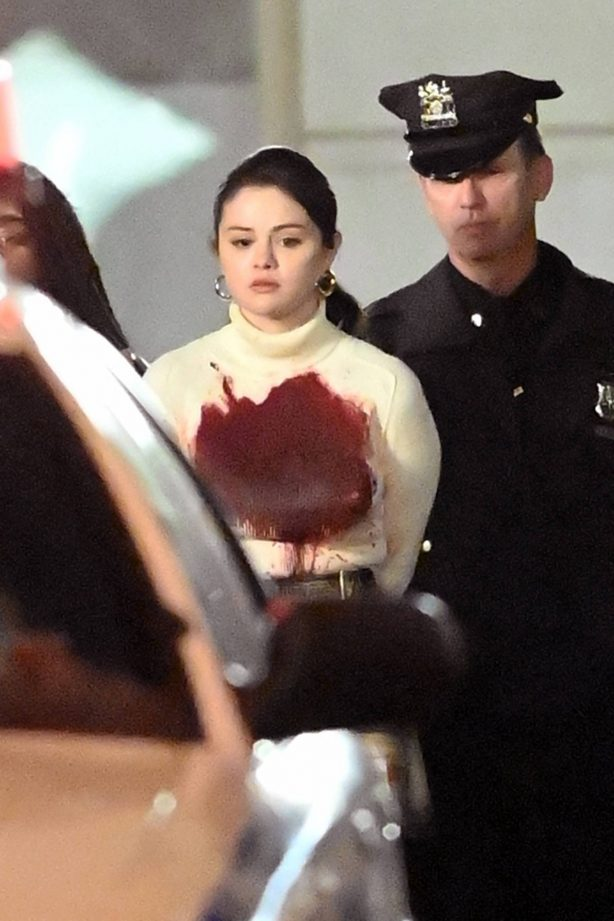 Selena Gomez - Seen filming 'Only Murders In The Building' in New York