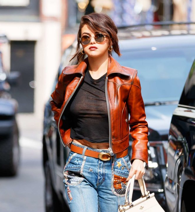 Selena Gomez  – Seen while out in NYC