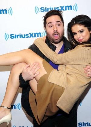Selena Gomez - Sirius XM Studios in NYC