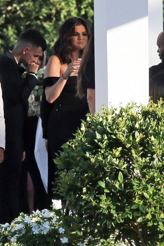 Selena Gomez 2019 : Selena Gomez – Spotted at her cousins wedding in Los Angeles-11