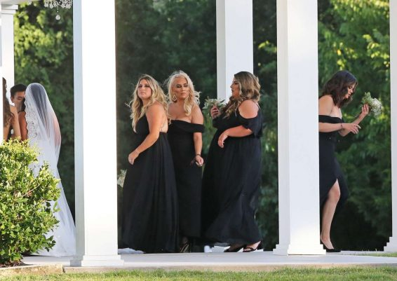Selena Gomez 2019 : Selena Gomez – Spotted at her cousins wedding in Los Angeles-13