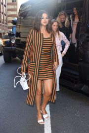 Selena Gomez - Spotted outside the August Wilson Theatre in NYC