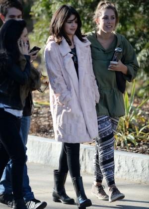 Selena Gomez in Tights -04