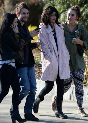 Selena Gomez in Tights -06