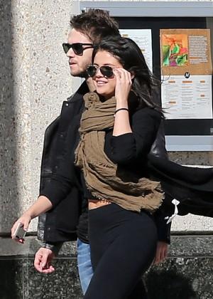 Selena Gomez in Tights -09